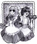 Welcome to the Maid Cafe(contset Entry) by Ca-Pe