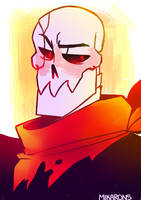 underfell! papyrus by mikarons