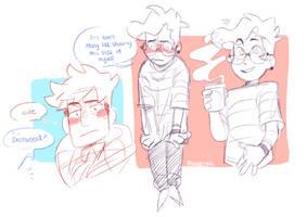 a pretty dorky boy