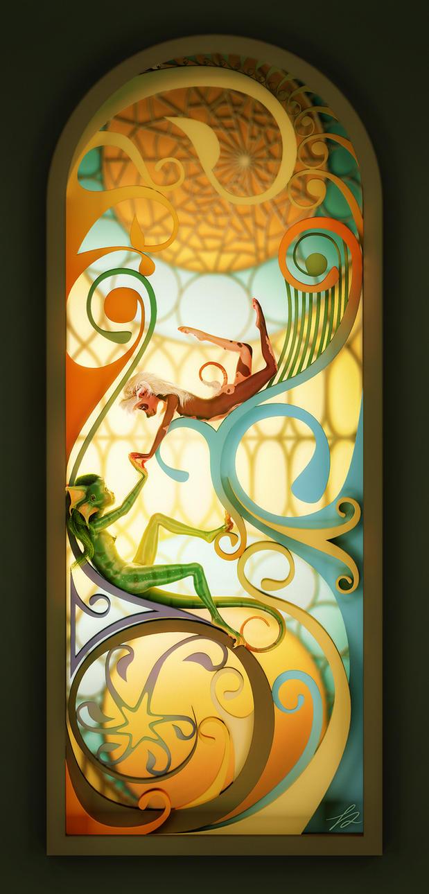 L'eau et la flore by tchaikovsky2