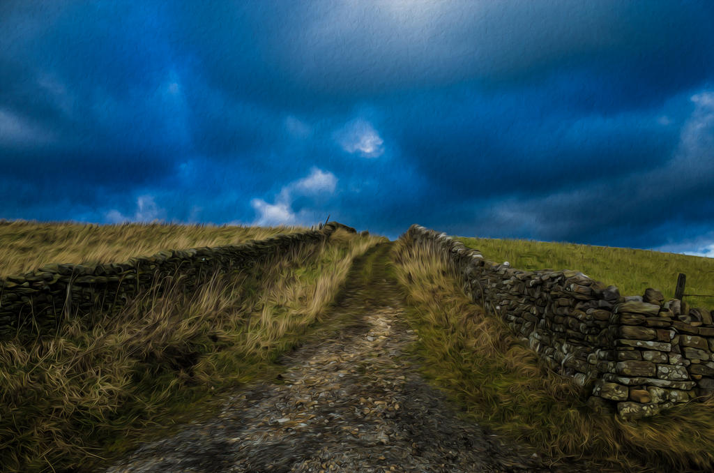 Over the hills and far away by M-Hutcheson