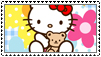 Hello kitty stamp by clarksie112