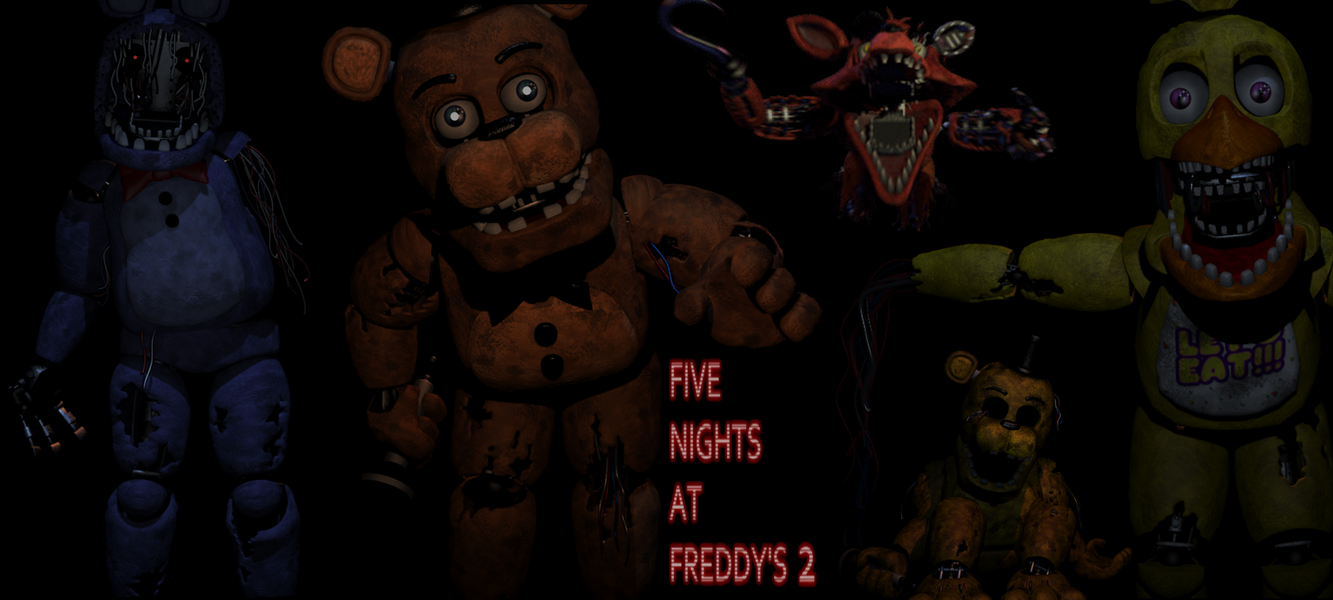 Five nights at freddy s 2 old wallpaper by elsa shadow on deviantart