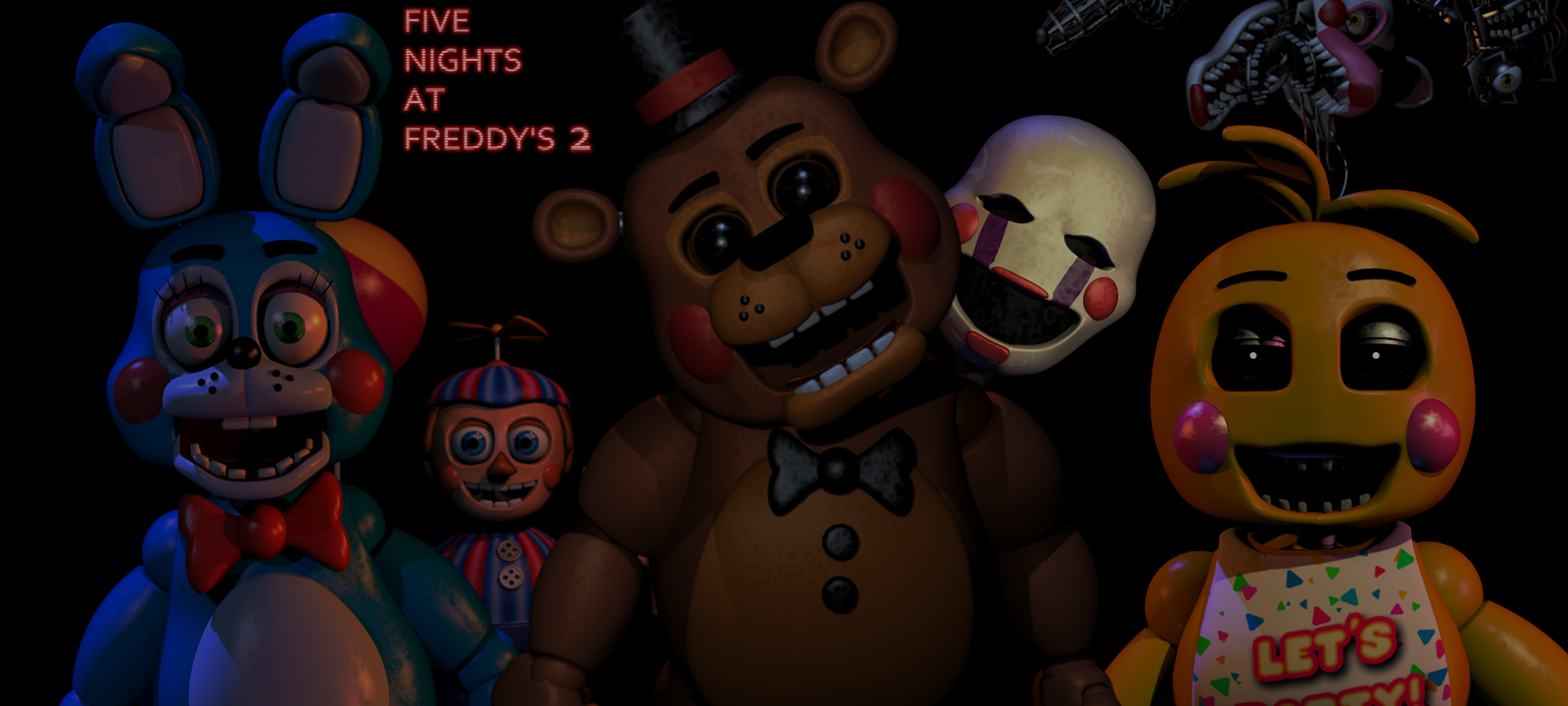 Five nights at freddy s 2 toy wallpaper by elsa shadow on deviantart