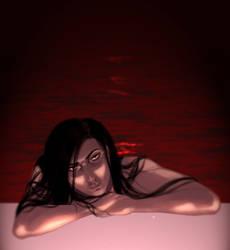 Bathing in Tears by HostileCobalt
