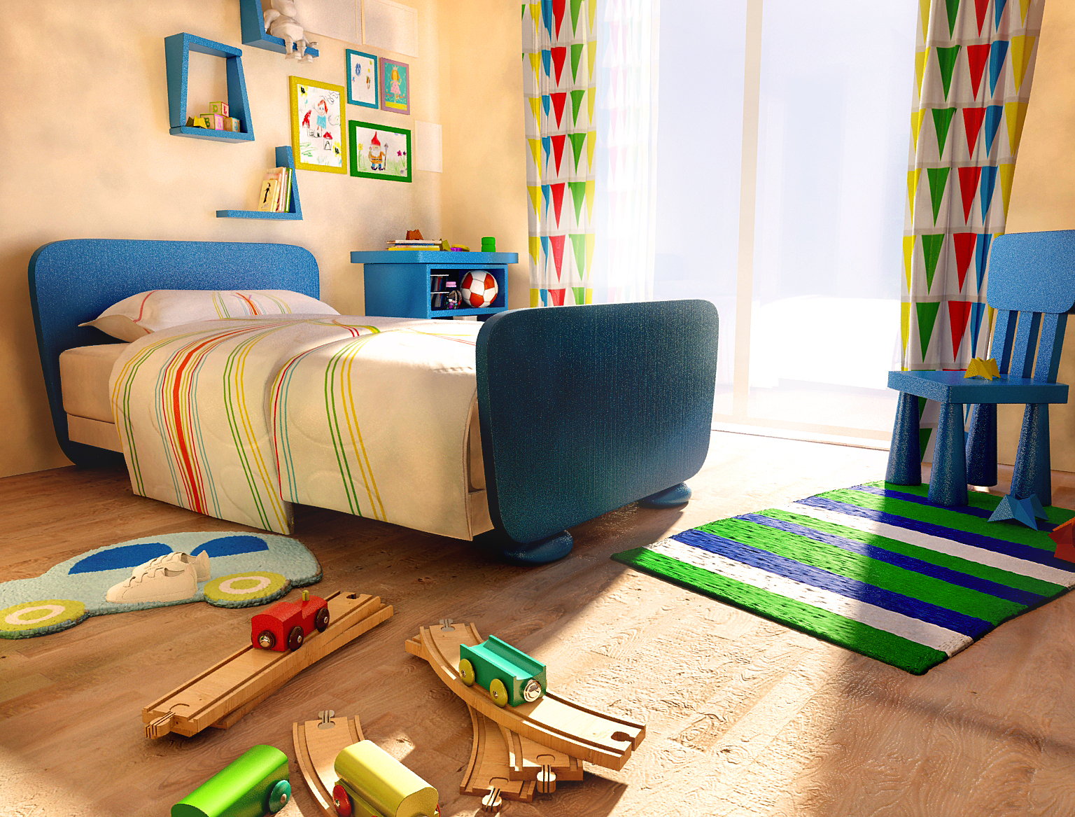 Kid Bedroom By 0217 On DeviantArt
