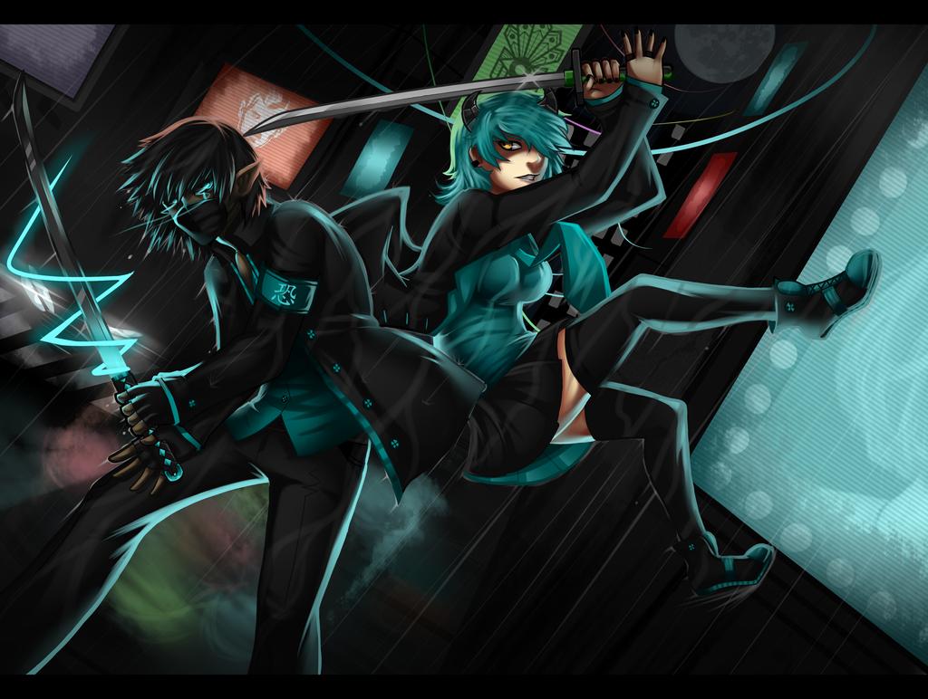 Vrees vs Chizuko by khkeyblademaster2
