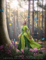 Lady Butterfly by Amanda-Kulp