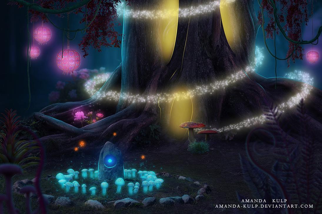 Fae Forest by Amanda-Kulp
