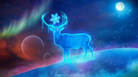 Winter's Spirit 4K Wallpaper