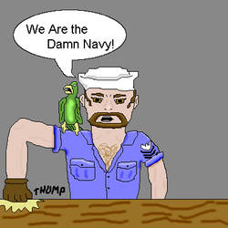 We Are the Damn Navy by BassManSTS
