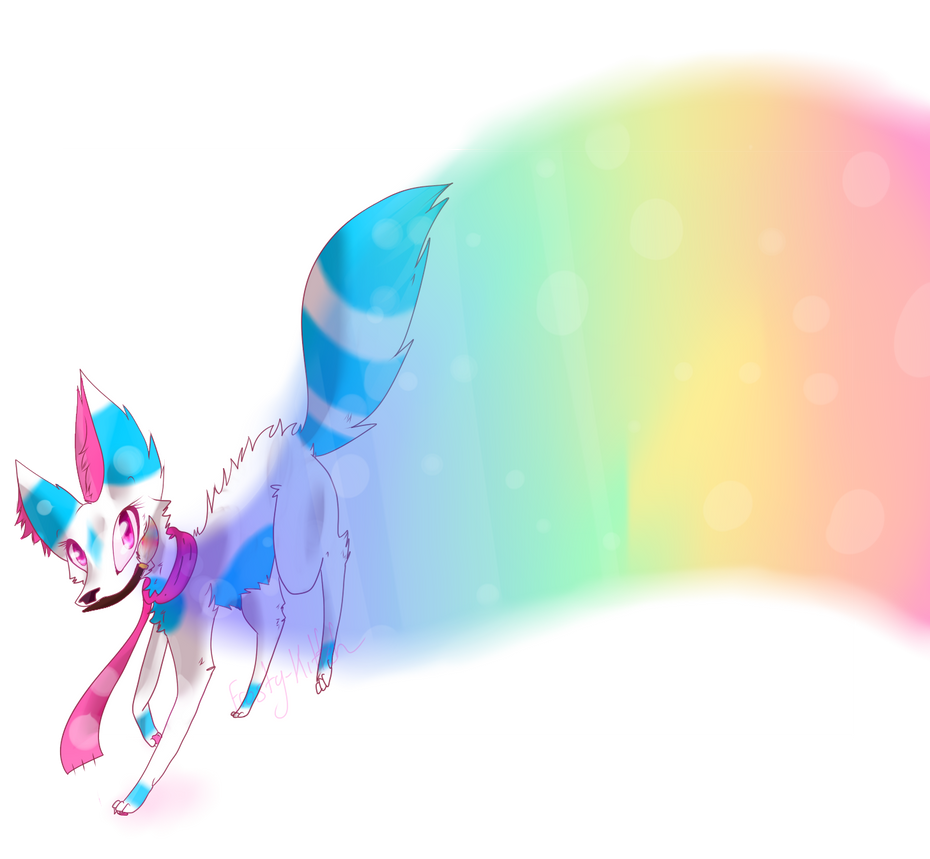 .: Painting a Canvas :. by Frosty-Kitteh