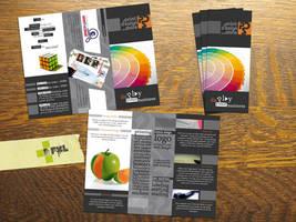 print design store brochure by plus1pxl