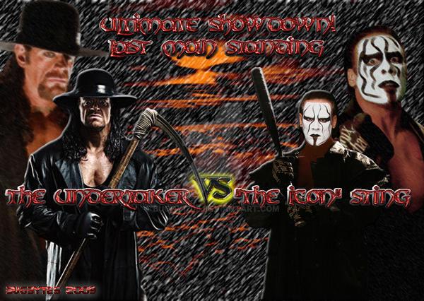 Sting Vs Undertaker Wallpaper