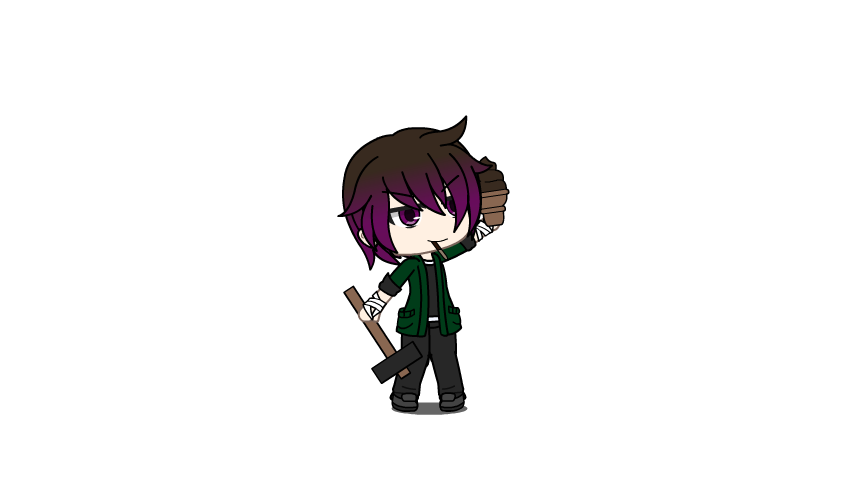Clyde - GachaLife by AnonWesker