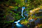 Triberg Falls by Linkineos