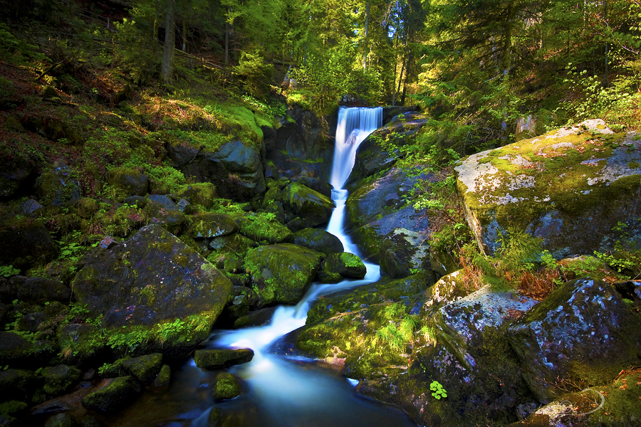 Triberg Falls by Linkineos
