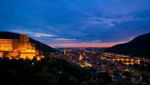 Heidelberg Castle by Linkineos