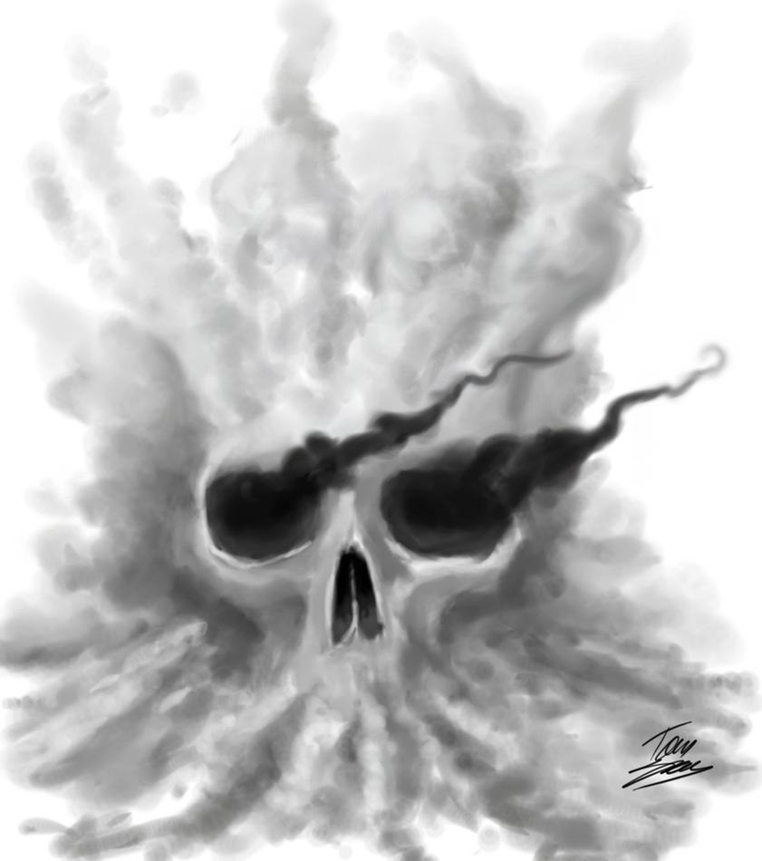 Smoking Skull by Hampamatta on DeviantArt
