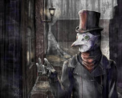 Rain for the Alleys by Hashiara