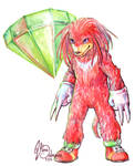 Come at me bro -Knuckles by Hashiara