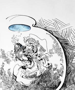 Underwater - Inktober 4
