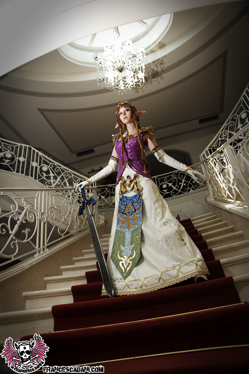 Princess Zelda, Twilight Princess by francescadani