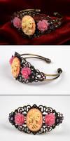 Baroque Wrist Ornament Bracelet by Francesca Dani by francescadani