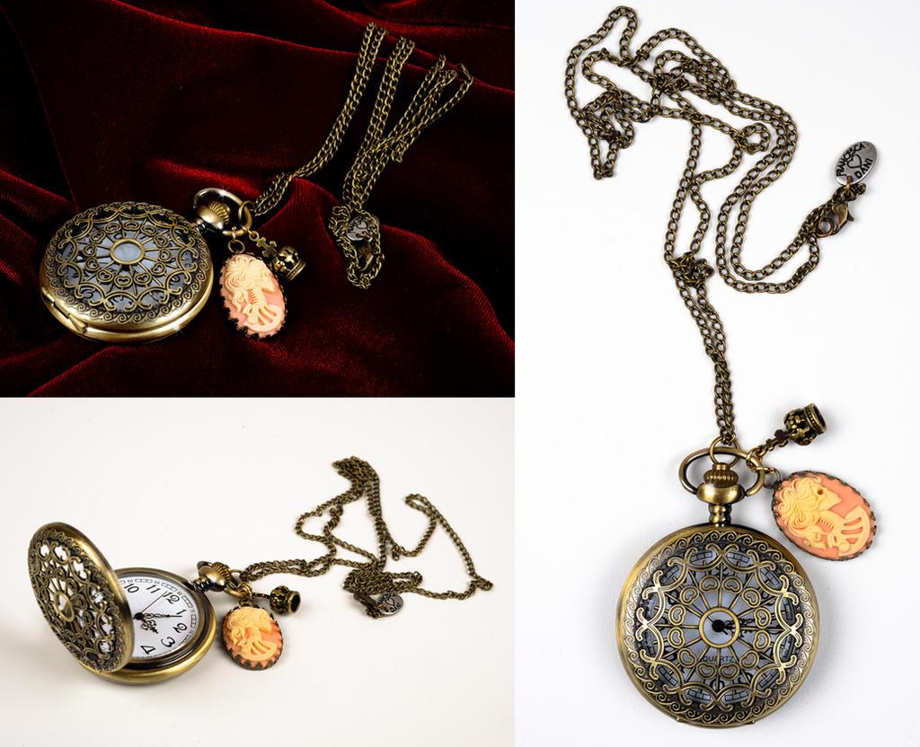 Romantic Arabesqued Watch by francescadani