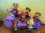 ever after high mini lalaloopsy dolls