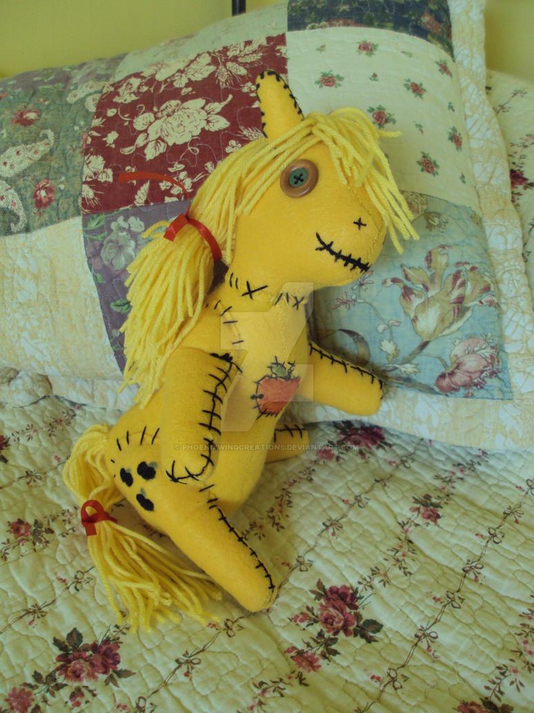 Creepy Rag Doll Applejack By Phoenixwingcreations On Deviantart