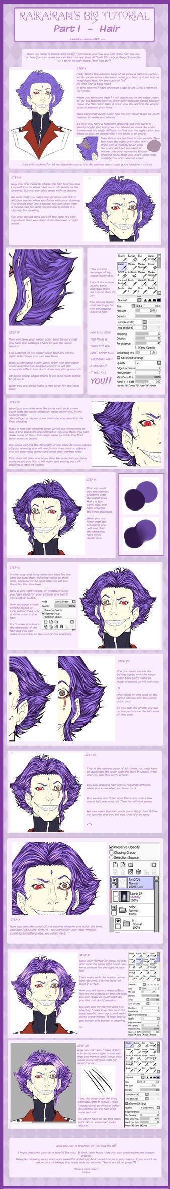 Hair Tutorial by RaikaiRan