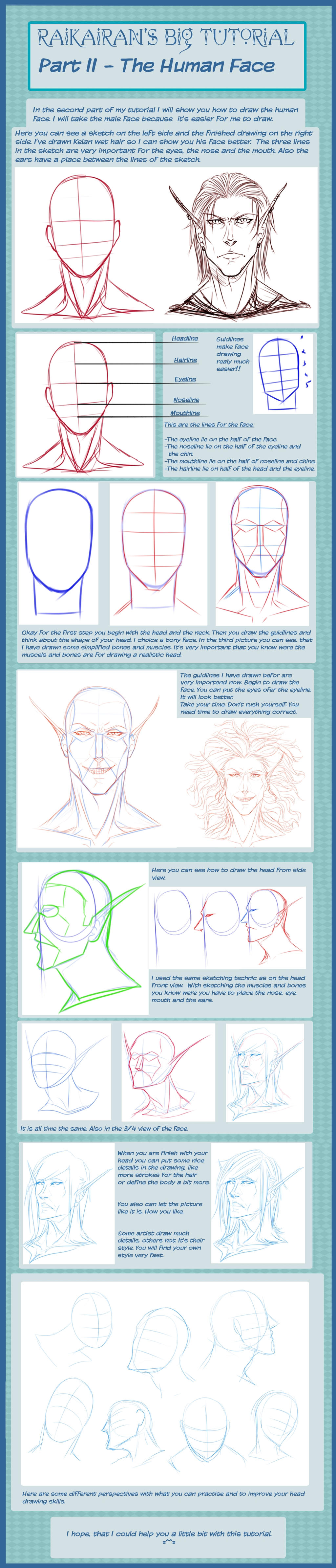 Head Tutorial by RaikaiRan