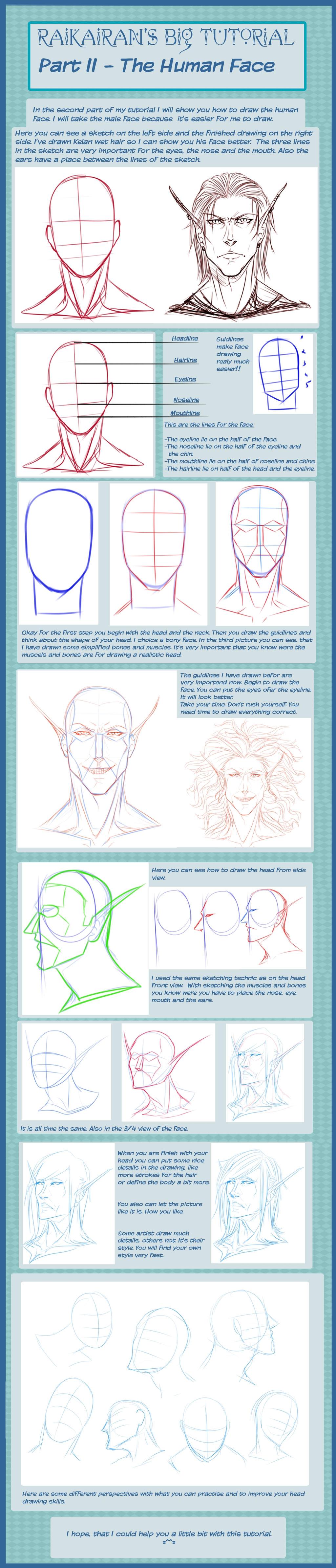 Head Tutorial by RaikaiRan