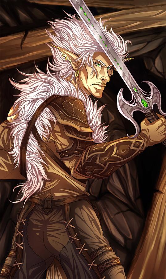 Swordmaster by RaikaiRan