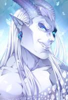 Kronos/Chauron Portrait by RaikaiRan