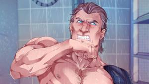shower time - 2018 by RaikaiRan