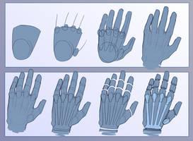 CYBORG HAND TUTORIAL by RaikaiRan