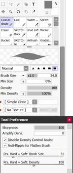 Paint Tool SAI 2 - inking brush