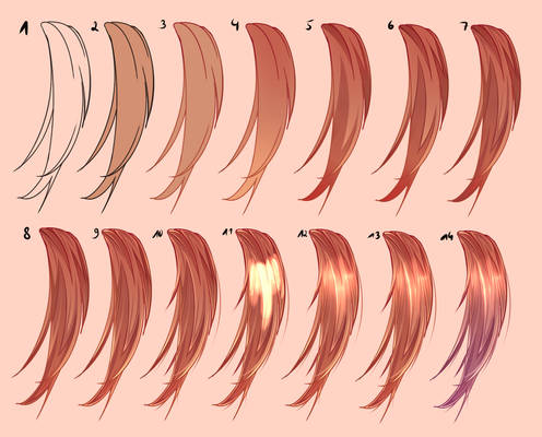 Tutorial - Shading Hair