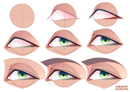 Eye Tutorial - Front