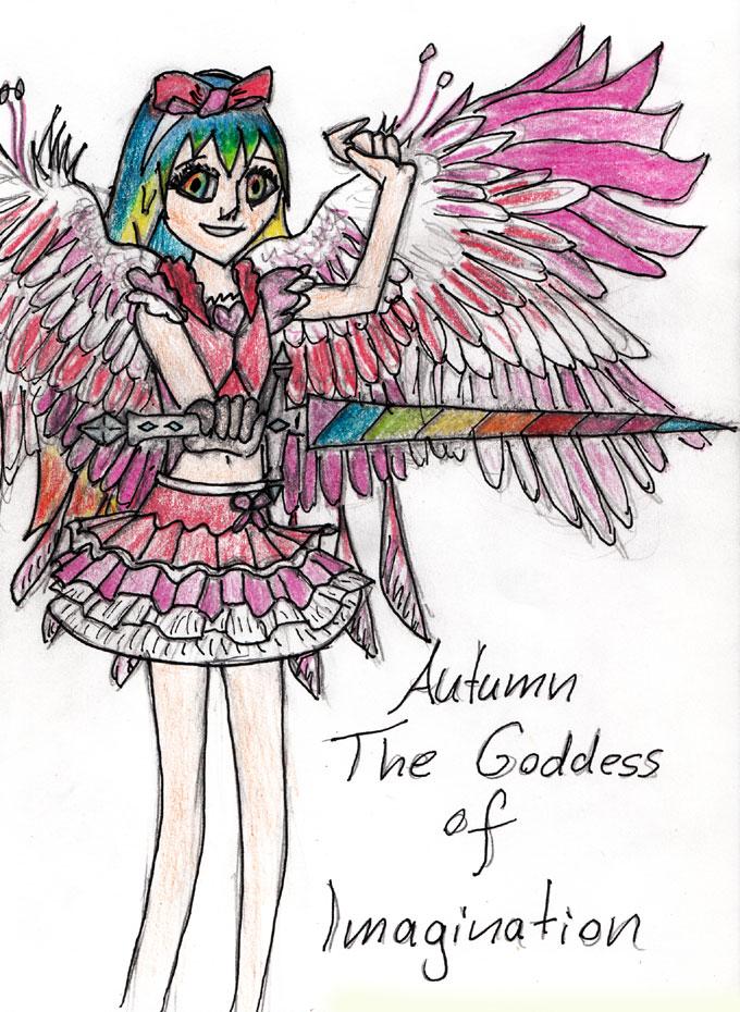 Goddess Of Imagination by LilaTheAngel
