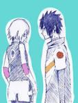 Saku y Menma