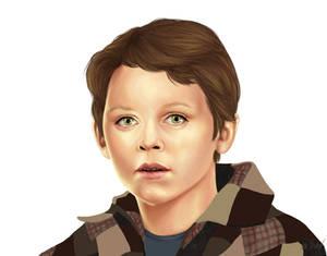 Child Hero - sketch
