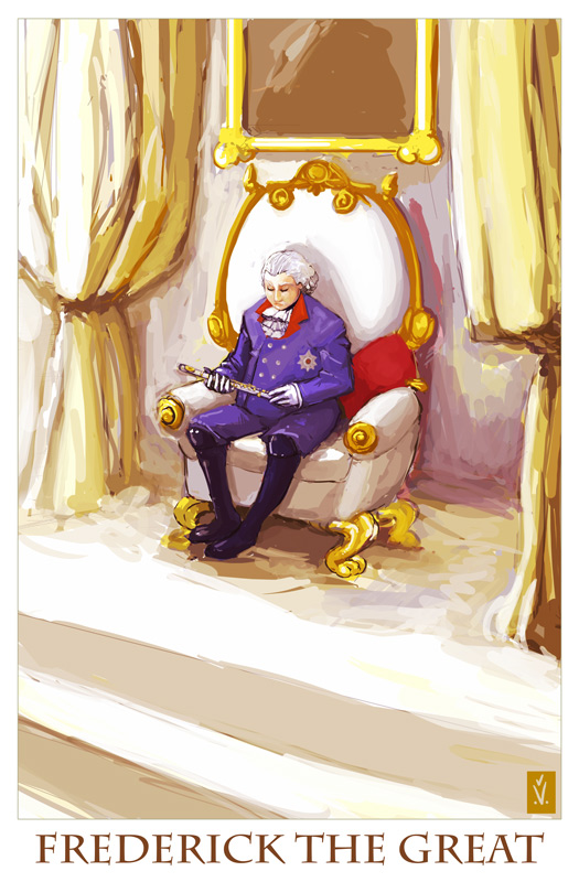 commission frederick the great by missveryvery