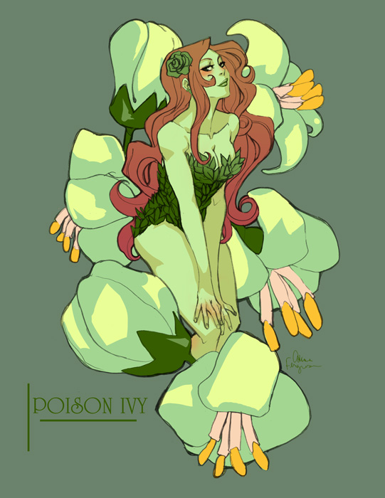 poison ivy - flowering by missveryvery