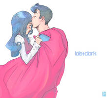 lois and clark - superkiss by missveryvery