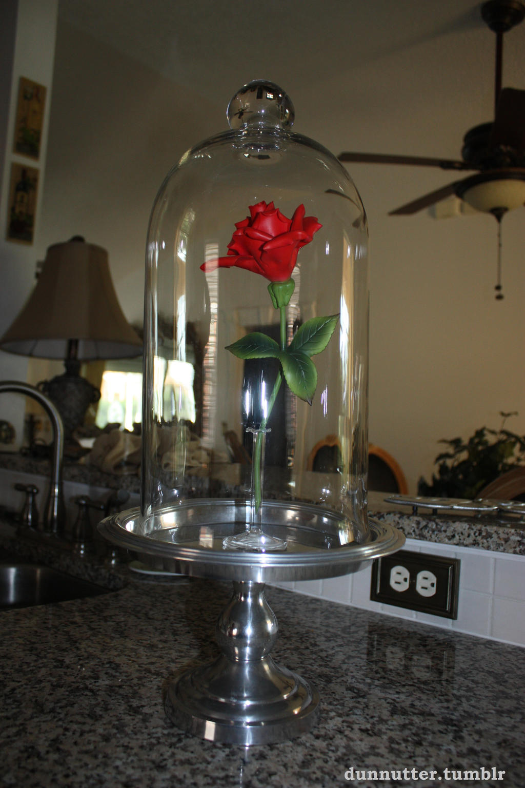 The enchanted rose by charlielou on deviantart