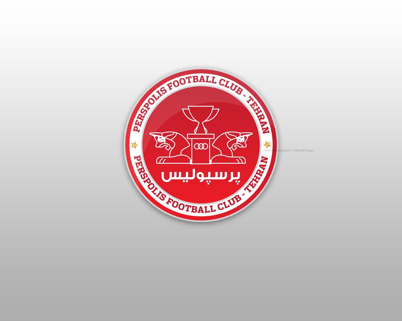 Fc Perspolis Tehran Logo By Dellyd On Deviantart