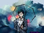 It's raining by Aroufoam